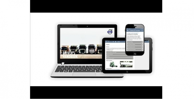 Volvo Trucks first on the market with chassis-unique driver handbook as an app